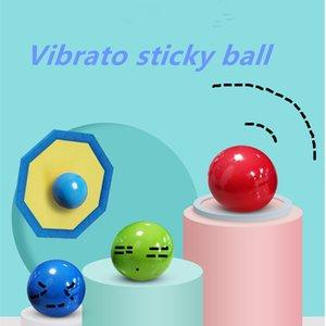 Vibrato decompression sticking target wall suction creative luminous sticky ball