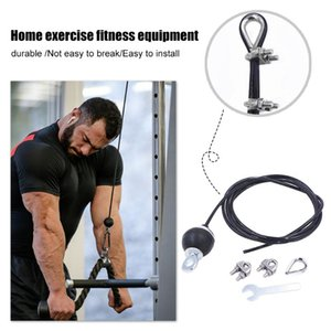 Gym Wire Rope Adjustable Heavy Duty Steel Wirerope For Home Cable Machine Thick 5mm Training Fitness Pulley Accessories