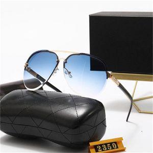 2021 Высокое Качество Классические пилотные Солнцезащитные очки Дизайнер Бренд Мужская Женская Солнцезащитные Очки Стеклянные Квадратные Рамки Линзы с коробкой