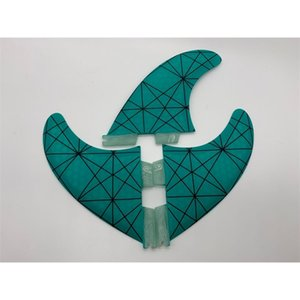 Single product second wave surfboard tail rudder FCS II G5 fin fiberglass and carbon
