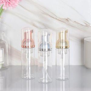 Банные принадлежности 50 мл Пластиковая пена для пены насос бутылка пустого лица Косметическое очистительное мыло Диспенсер Rose Gold Открытые гаджеты