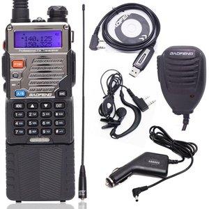 Walkie Talkie Baofeng UV-5RE 8W 전문 CB 라디오 방송국 UV5RE 트랜시버 VHF UHF 휴대용 UV 5R 사냥 햄