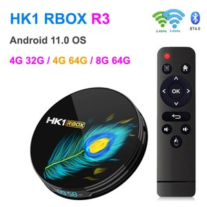HK1 Rbox R3 Android Smart TV Box DDR4 8GB RAM 64GB ROM RK3566 Quad Core 4G32G 4G 64G 8K Media Player 1000M 2.4 5G Dual Band Wifi BT 4.0 Android11 Set Top Boxes with Display