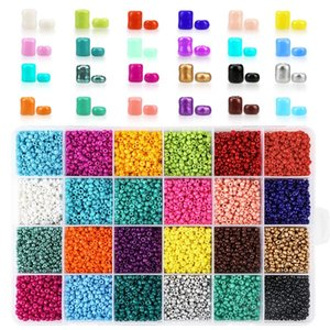 2 3 4mm Glass Seed Beads Jewelry Making Kit Beads for Bracelets Bead Craft Kit Set, Glas Seed Letter Alphabet DIY Art and Craft 1193 Q2