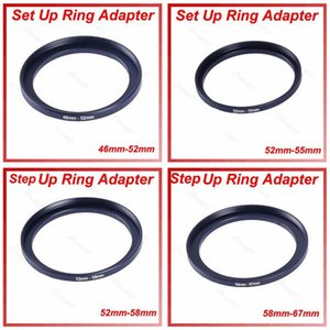 Lens Adapters & Mounts 1Pc Metal 52mm-58mm 46mm-52mm 52mm-55mm 58mm-67mm Step Up Filter Ring Adapter 52-58 Mm 52 To 58 Stepping