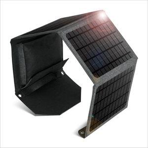 24W طوي شاحن لوحة للطاقة الشمسية المحمولة محطة الطاقة الشمسية مولد الطاقة المنقولة الشحن المحمول متجر الطاقة الشمسية بالطاقة البنك أحادي ماء للماء