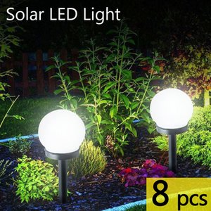 8 pcs lot LED Solar Garden Light Outdoor Waterproof Lawn Light Pathway Landscape Lamp Solar Lamp for Home Yard Driveway Lawn