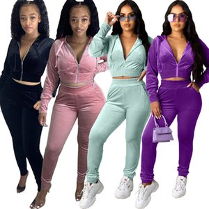 Women clothing fleece Jacket outfits s-xl hoodie pants tracksuit long sleeve cardigan Jogging Suits fall Winter casual sportswear 3831