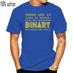 Ragazzi TEE Midnite Star Ci sono 10 tipi di persone che comprendono la T-shirt binaria PROGRAMMATORE PROGRAMMATORE PROGRAMMATORE DI COTONE T ShirtChifdren's CL