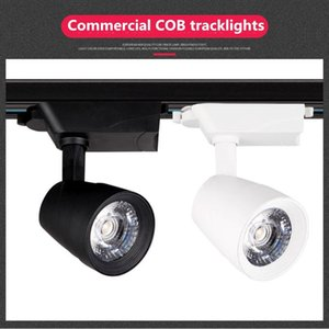 Commercial Clothing Store Super Bright Energy-saving Track Light Led Spotlight Cob Warm Slide 30W 35W Lights