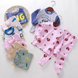 2021 New Autumn and Winter Children's Pure Cotton Underwear Set for Boys Girls
