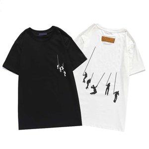 Мужские дизайнерские футболки мужчины женщины хип-хоп тройники 3D печать ротвейлер стилист рубашка M-XXXL