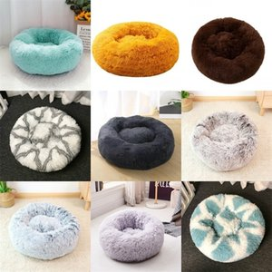 Round Soft Long Plush Cat House Self Warming Pet Bed for Small Medium Dogs Cats Nest Winter Warm Sleeping Cushion Puppy Mat 320 R2 VZUP IW7A