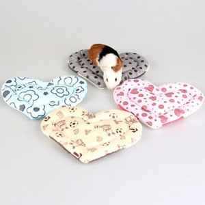 Blanket Mat Washable Hamster Rabbit Cat Kitten House Warm Cage Nest Bed Guinea Pig Love Pad Small Animal Pet Accessories C7PM