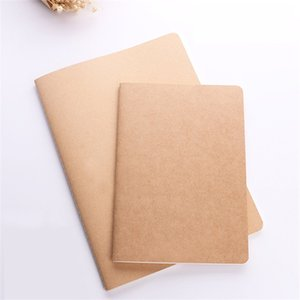 Custom logo!blank Kraft paper A4 A5 B5 Student Exercise book diary notes pocketbook school study supplies 30 sheets AU US 568 R2