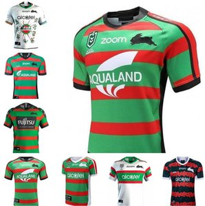 2021 Sur Sydney Rabbitohs Adult Super Rugby Jersey Shirt Maillot Camiseta Maglia Tops S-3XL Trikot Camisas