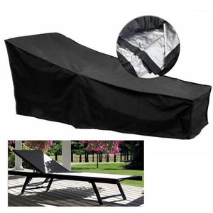 Waterproof Deck Chair Rain Covers Outdoor Patio Garden Furniture Cover Sunlight Sofa Table Chair Dust-proof Cap Armchairs Shade1 Q0402