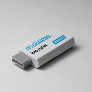 Linkrider Wii To Adapter, 1080P 720P Connector Output Video & 3.5mm Audio - Supports All Display Modes Cables Connectors