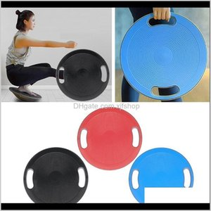 Wobble Board Exercise Yoga Training Fitness Disc Antislip Surface Balls Ul3Jw Ydv7M
