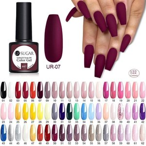 7.5ML Nail Polish 122 Colors UR SUGAR Gel Nail Polish Semi Permanent Soak Off UV Gel Colors Nail Art Gel Varnish