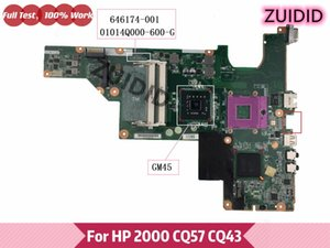 Motherboards 646174-001 Motherboard 6461754-501 For PRESARIO CQ43 CQ57 2000 Laptop 01014Q000-600-G GM45 DDR3
