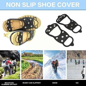 Cords, Slings And Webbing Professional Rock Climbing Crampons 8-tooth Non-slip Shoe Skate Ice Spikes Hiking Shoes Covers Travel H3Y5