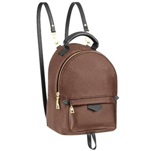 2021 Kadın Tasarımcılar Palm Springs Mini Sırt Çantası Stil Çanta Çanta Mektubu Güncelleme Sürümü Inek Derisi Tek Kolu Sırt Çanta Çanta Çanta Moda Omuz Çanta