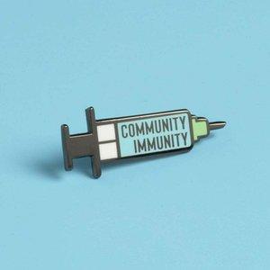 Hemşire Broş, Şırınga Mini Pin, Broş Pin, Teşekkürler Bilim