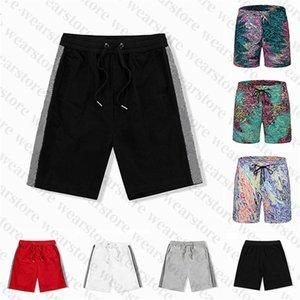 2021 남성 여성 디자이너 반바지 여름 패션 느슨한 수영 트랙스 가로복 의류 빠른 건조 수영복 인쇄 보드 비치 바지 남자 s 수영 짧은
