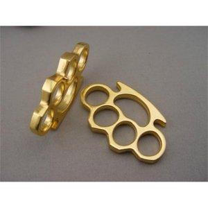 Metal Good Brand New Gold Brass Brass Metal Knuckle Buster Belt Buckle Fighter Cool Hip