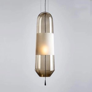 Pendant Lamps Post-modern Art Restaurant Lamp Nordic Simple Dining Table Bedside Bed Three Round Bar Cosmos Lights Luminaria