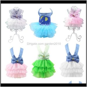 Apparel Clothes Dress Princess Teddy Puppy Wedding Dresses Fot Dog Small Medium Dogs Cute Fashion Skirt Pet Accessories Ykbi4 7Xodm