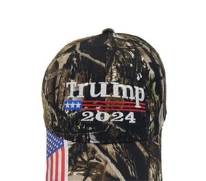 25PCS DHL Camouflage Trump 2024 Ball Hat Women Mens Designers Snapback Baseball Caps Anti Biden US Flag MAGA Summer Sun Visor 1137 V2