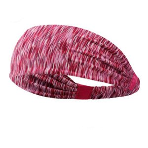 Lyca Absorbent Cycling Headband Sweatband for Men and Women Yoga Hair Head Sweat Bands Sports Safety