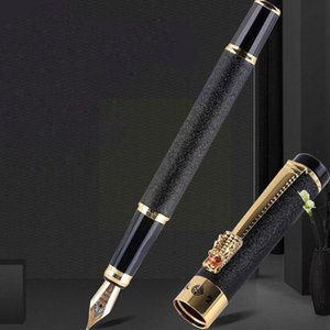 Fountain Pens 1PC Hight Quality Pen Hard Student Art Business Office Signature Writing Ink Calligraphy N4X0