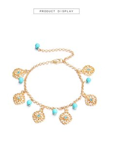 Arrival Trendy Bohemia Style Anklet Beaded Tassel Design Jewelry Wholesale Anklets