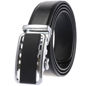 Belts Belt Two Layer Cowhide Business Leisure Automatic Buckle Men's Belt Ly25-0521-1
