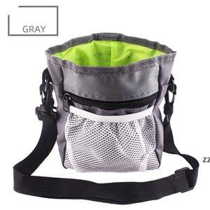 Multi-function Dog Pet Training Bag Portable Pets Outdoor Treat Sack Food Holder Adjustable Waist Belt Garbage Bags Folding Kit HWE9587