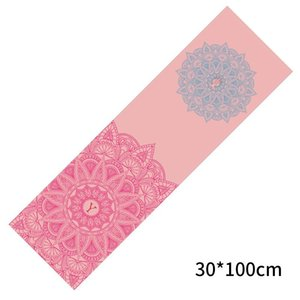 Yoga Mats Mat Towel Celebrity Inspired 30*100 Sports Quick-Drying Set Printed