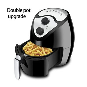 Electric Air Fryers Roasting Frying With Removable Rack 2.6L 1300W Oil Pressers