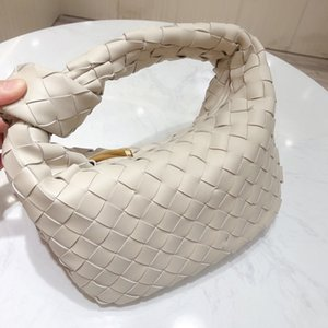 Women luxury designers evening bags handbag purse soft Lambskin Calfskin woven Mini jodie boho shoulder bag fashion leather Knotted strap