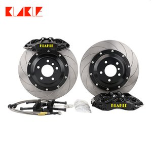 KLAKLE High performance 9040 Cars Caliper 6 Big Pot Brake kit fit with Front Wheel For bmw e36