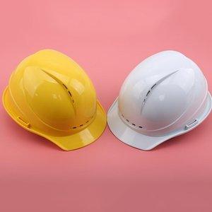 High Quaulity Безопасный шлем Жесткая шляпа Рабочая крышка ABS Изоляционный материал с фосфором Строительная площадка Изоляция Защитить широкие Breim Hats