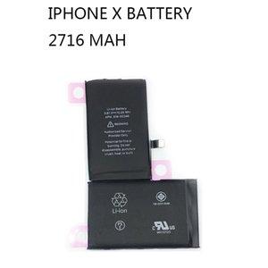 بطارية Laikaide ل iPhone X XR XS Max البطاريات عالية السعة الهاتف MAM 0 رسوم الوقت