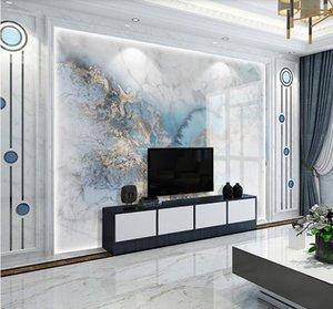 Duche mármore mural po wallpaper maquiagem pano de fundo Contato papel 3d murais de parede docas papéis de lona de casa tv backsplash wallpapers