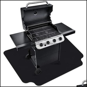 Tools Cooking Eating Patio, Lawn Garden Home Gardentools & Aessories Non-Stick Barbecue Mat Fireproof Heat Resistant Bbq Floor Anti-Oil Envi