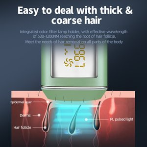 IPL Laser Hair Removal Painless Electric Epilator Professional Machine For Whole Body Permanent Remove Hair Laser Hair RemovalRa