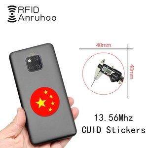 Mobiltelefon mit CUID Smart Chip Tag 1K S50 Wiederbeschreibbare Kopierschlüssel 13.56MHz Copier-Abzeichen NFC-Duplikator-Token-Kartenzugriffskontrolle