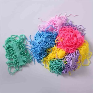 TPR Children's Creative Fidget Sensory Fidget Toy Game Noodle Rope Stress Reliever Vent Decompression Pull Ropes Anxiety Relief Toys Board G783WPN