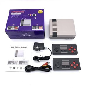 Inalámbrico NES620A Mini TV Doual Gamepad Controlador Dongle Construido en 620 Juegos Retro Clásico Regalo Jugadores portátiles Juego